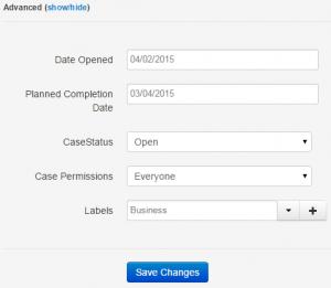 case management software, excel, advanced options, AgileCase, Customer management